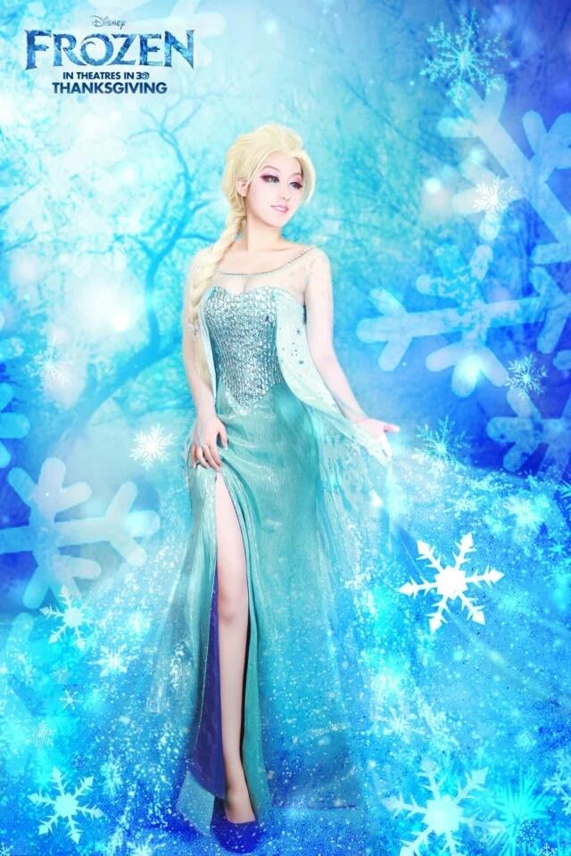 冰雪奇缘,艾莎,妖鸿月