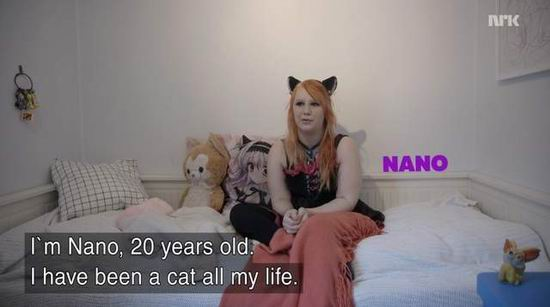 挪威猫女,生错种族,Nano