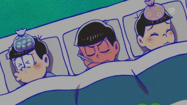 发烧卡通图片可爱