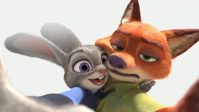 疯狂动物城,兔子和狐狸