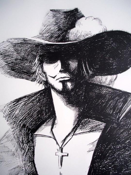 海贼王手绘美图,动漫手绘本子