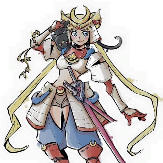 《武战版美少女战士》时代背景是在古代应该就是这种