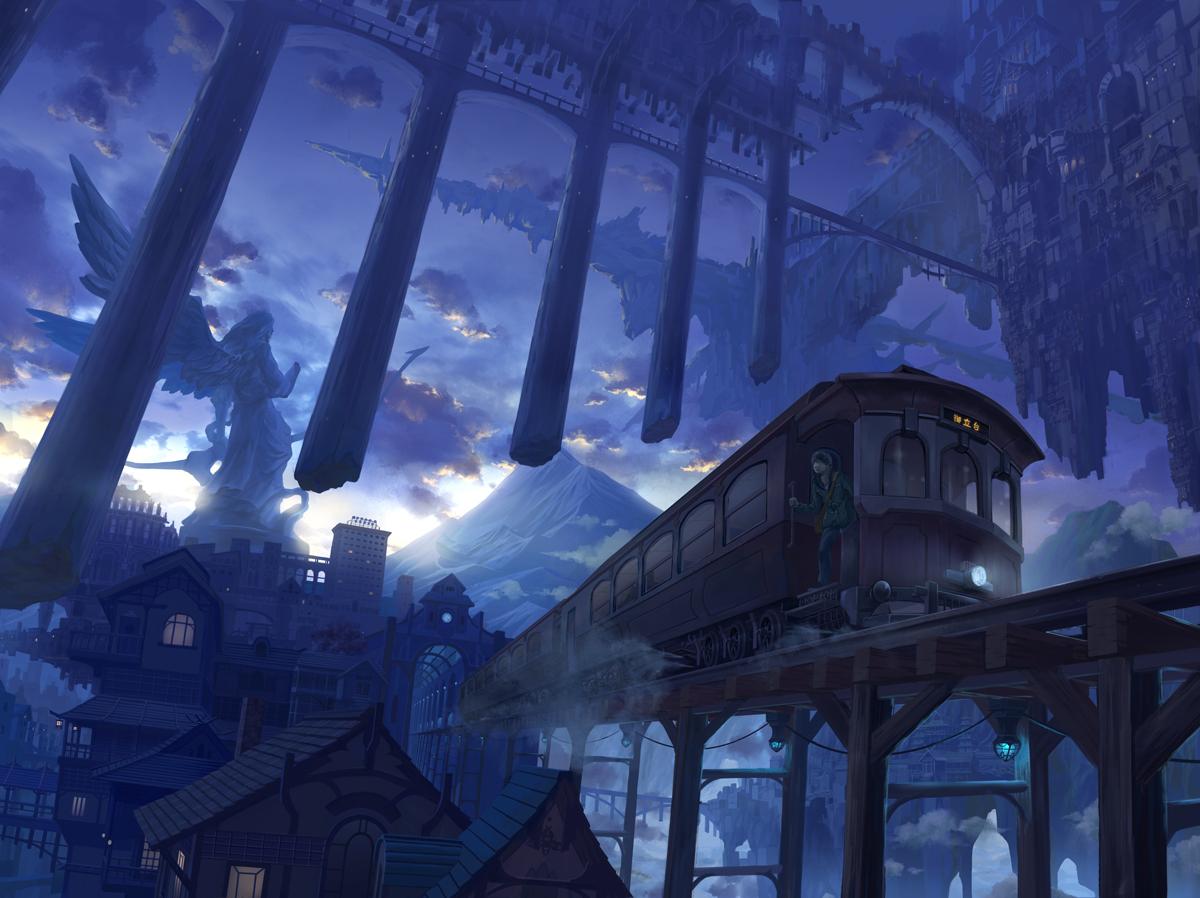 来自异世界的风景画!美美哒!
