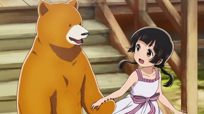 销量的时候,一部名为《当女孩遇到熊》的日常系动画却成为了小黑马