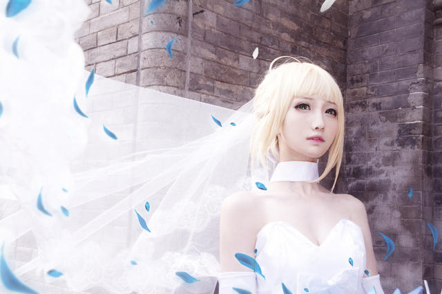 fate阿尔托利亚花嫁
