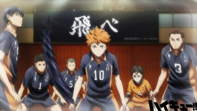 排球少年,龙珠,海贼王