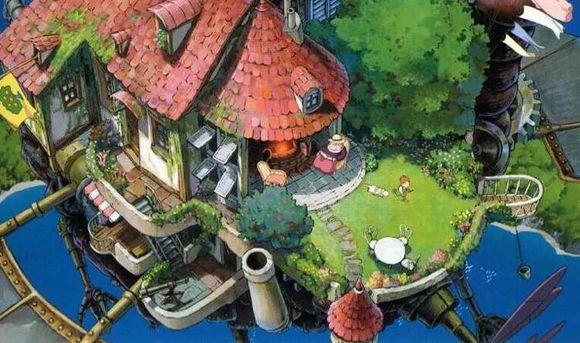 大师之作 宫崎骏所有作品里的美景