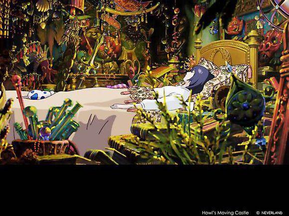 大师之作 宫崎骏所有作品里的美景第二期