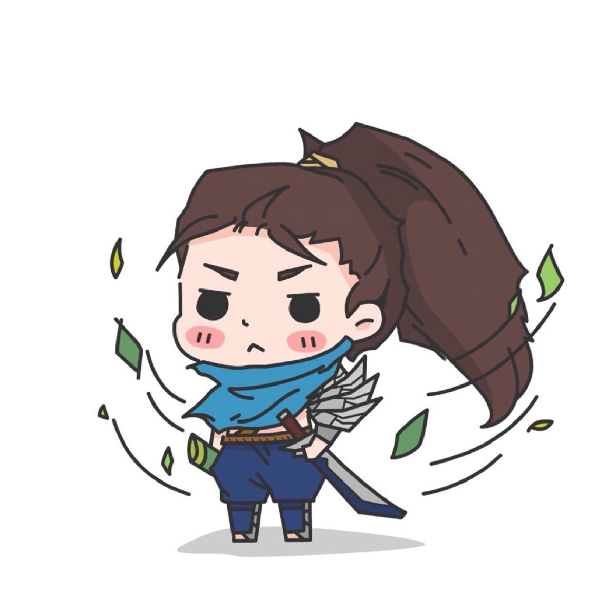 【英雄联盟】lol q版系列头像