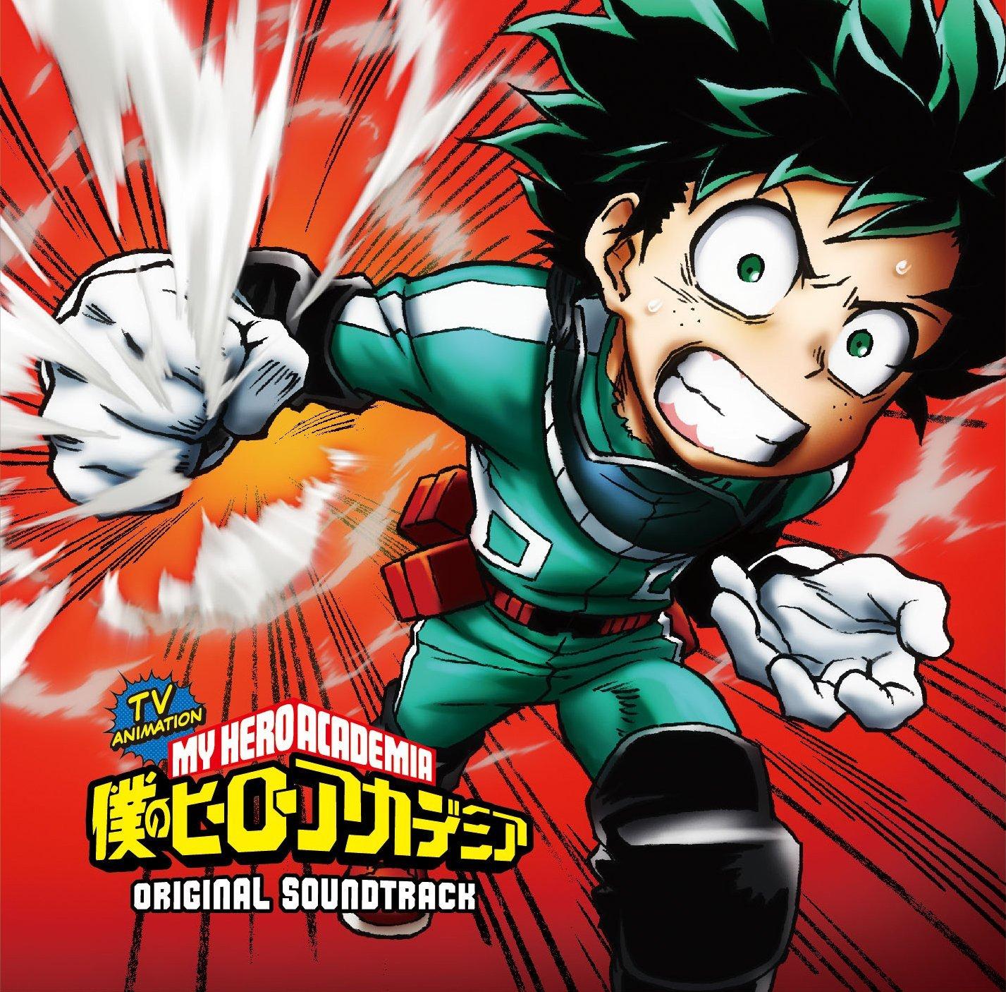 我的英雄学院,音乐集,OST,下载