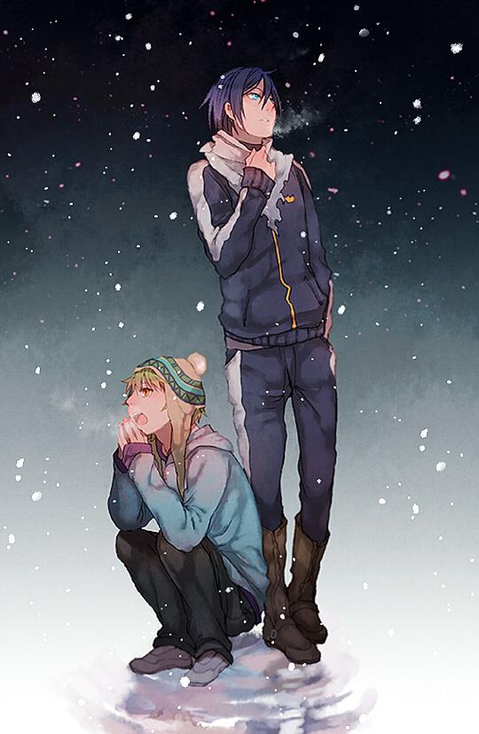 野良神,夜斗,雪音