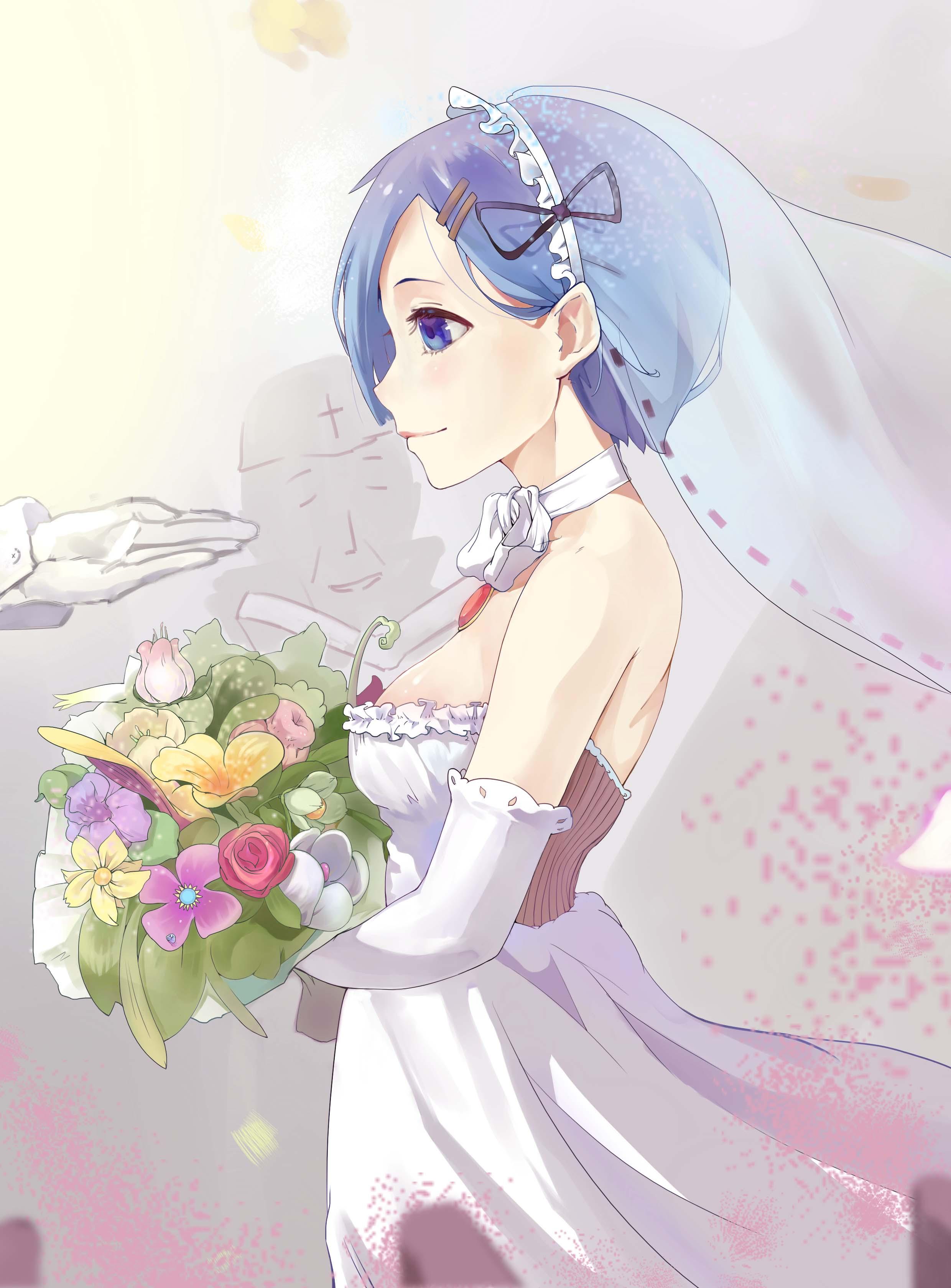 婚纱照,花嫁,动漫少女