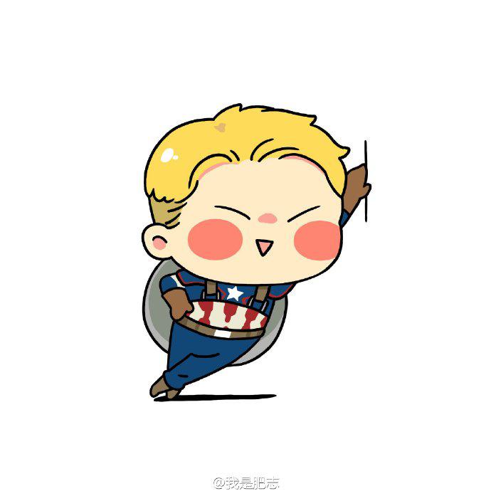 漫威,美国队长,钢铁侠,qq头像图片