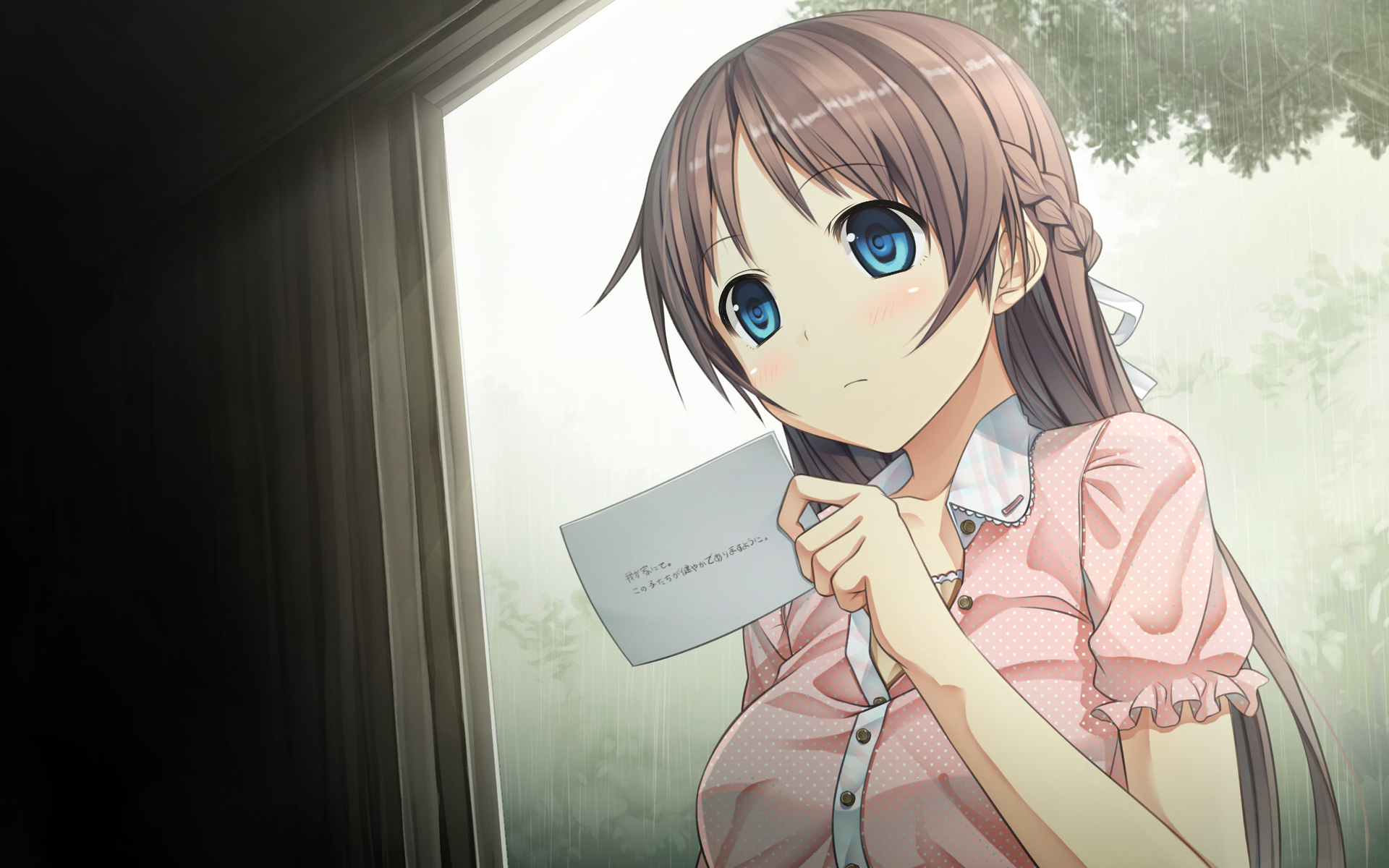 動漫美少女電腦壁紙