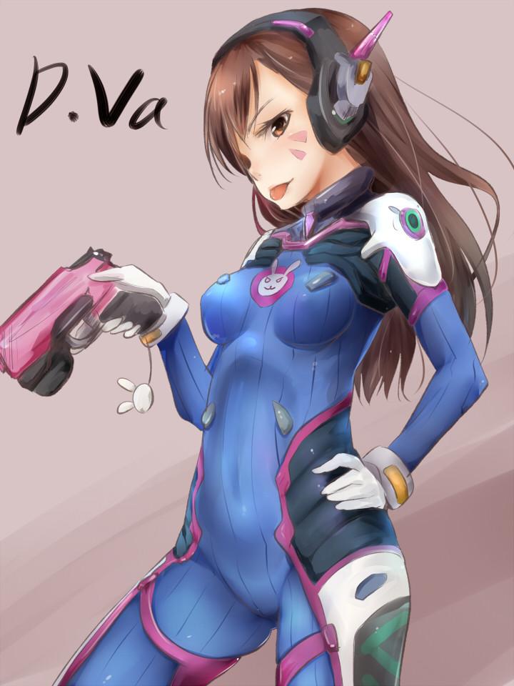 DVA本子,守望先锋本子,DAV壁纸