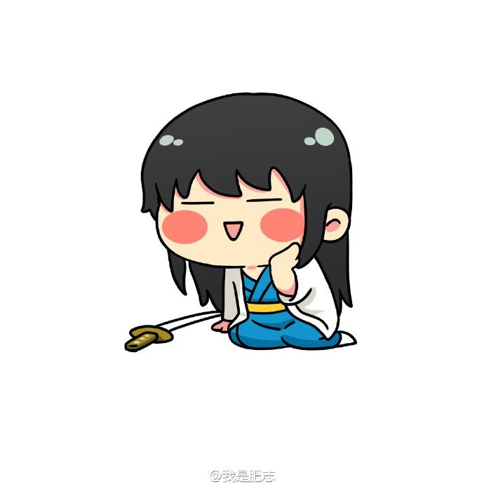 呆萌男生动漫qq头像下载