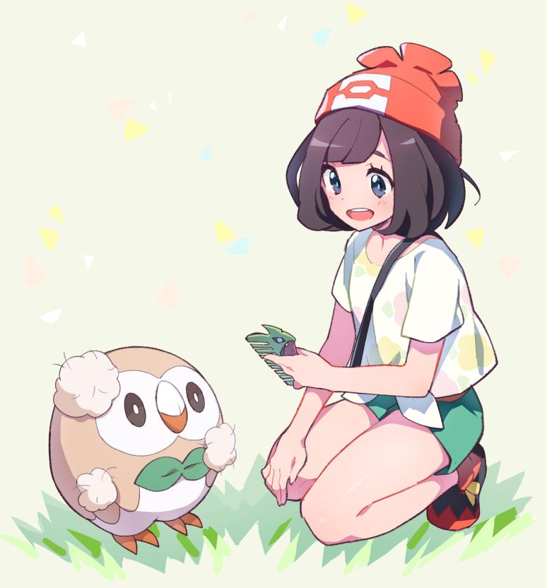 pokemon,精灵宝可梦,日月,太阳月亮,本子,羁绊网,P站,本子图
