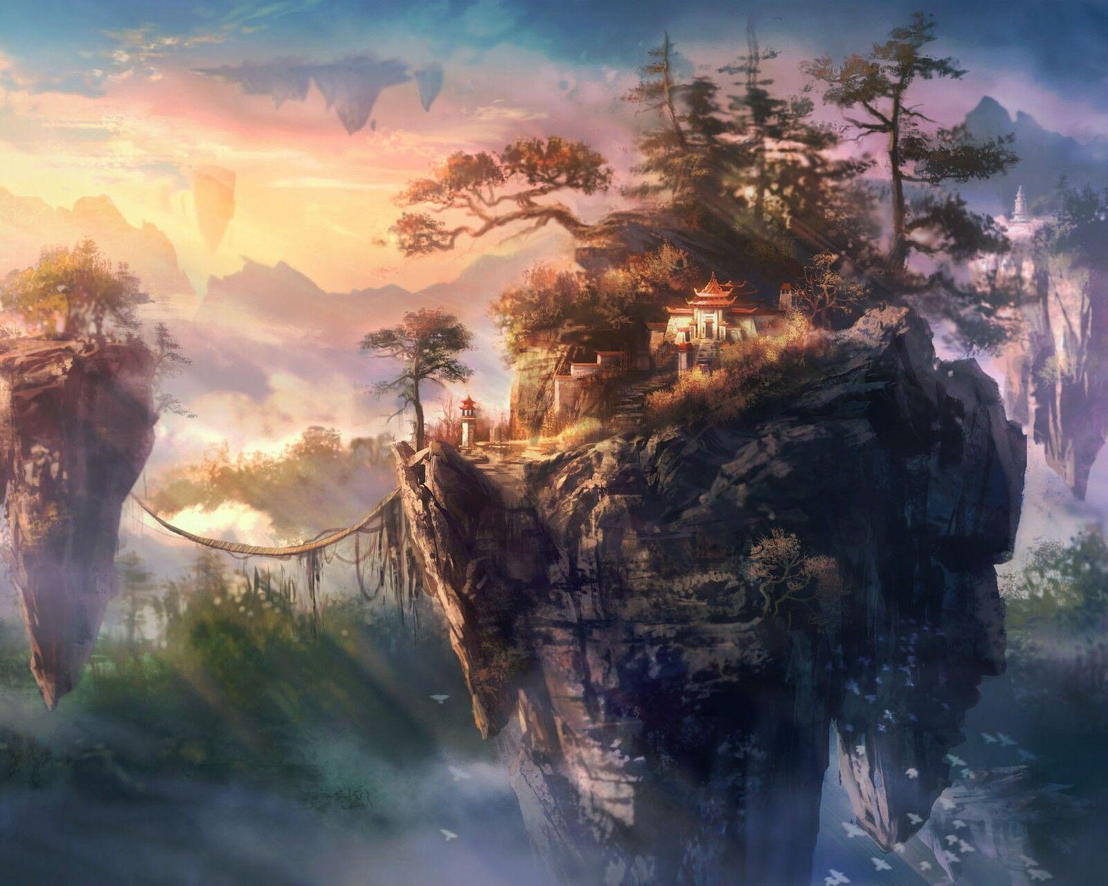 精美画质二次元风景图 滚动手机壁纸(10)