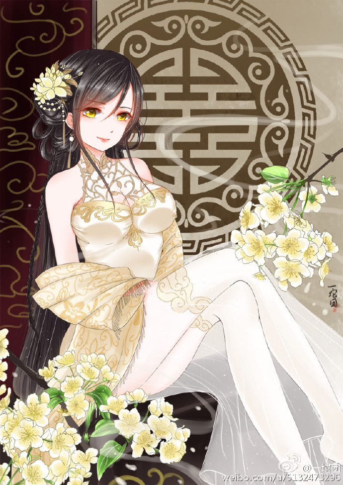 旗袍,古风,手机壁纸