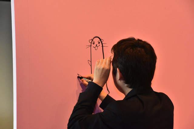 《漫画家赤松健原画展》明日菜的小裤裤究竟会露出几次 - 图片5