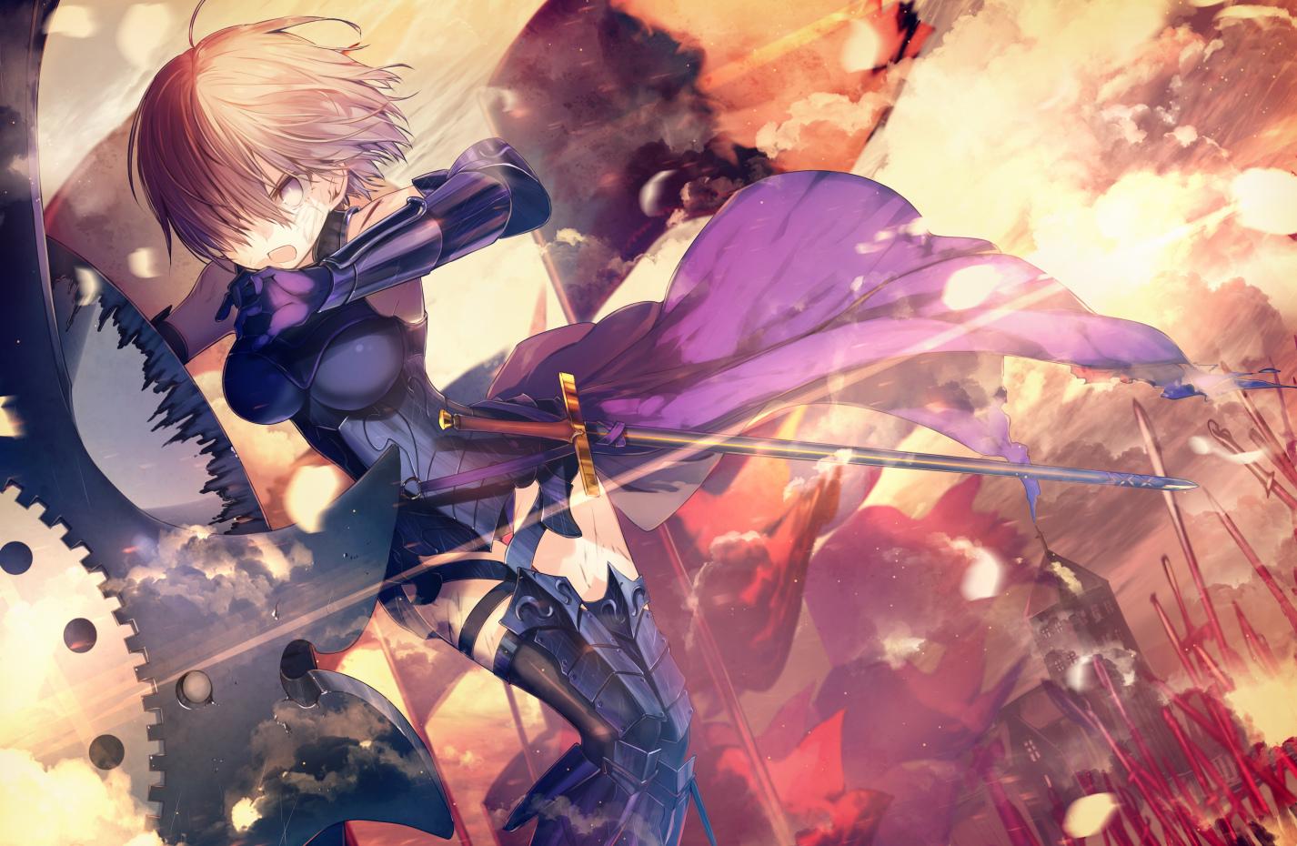 盾娘,玛修,Fate/Grand Order