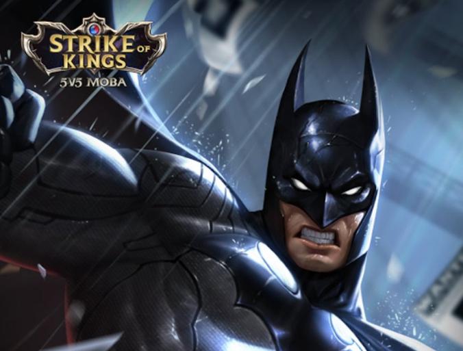 王者荣耀,蝙蝠侠,Strike of Kings,王者荣耀新英雄