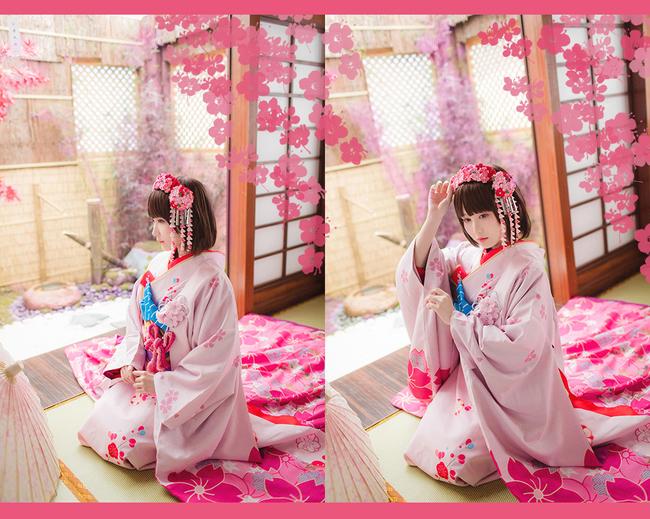 加藤惠,樱花和服,cosplay