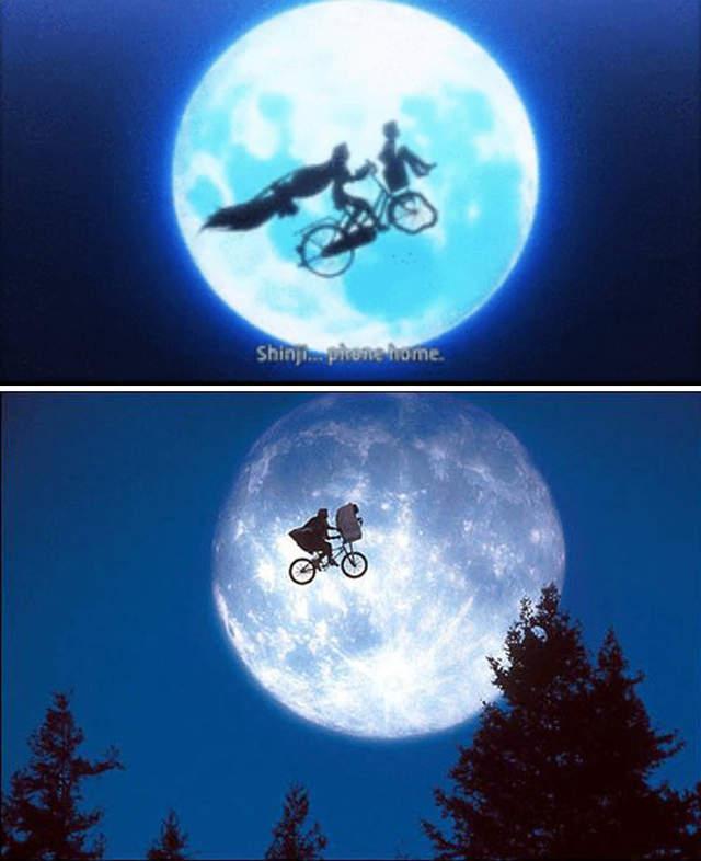 单车篮子载美眉,日本的推特话题,ET