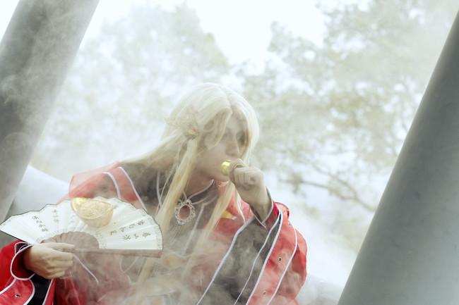 霹雳布袋戏 刀邪—阴川蝴蝶君COS