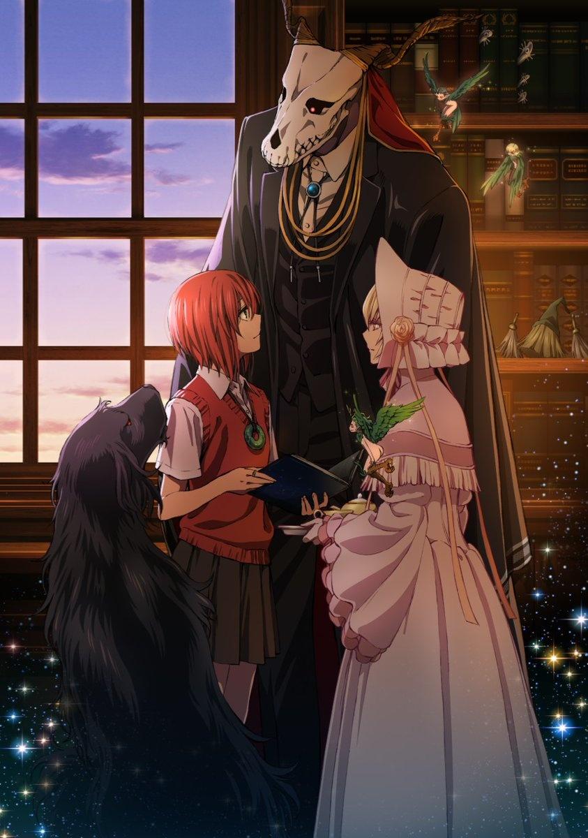 魔法使的新娘图片