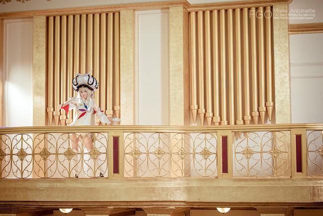 Fate/GO Rider 玛丽·安托瓦内特 COS