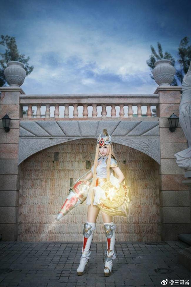 王者荣耀cos,雅典娜cos,战争女神