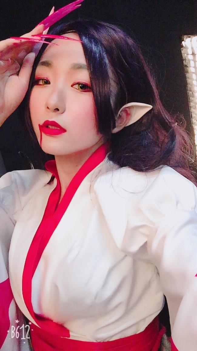 阴阳师,吸血姬cos,CN-小泽
