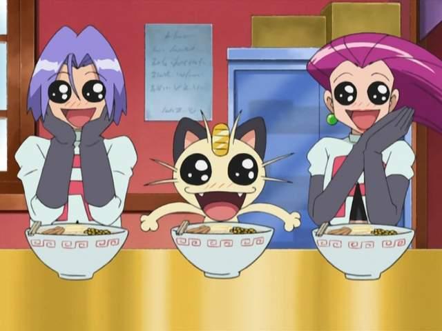 精灵宝可梦《喵喵有自己的座位》火箭队果然是温馨的「三人组」啊 - 图片1