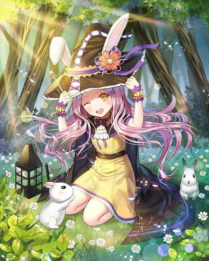 魔法娘美少女,二次元魔法少女,动漫魔法少女