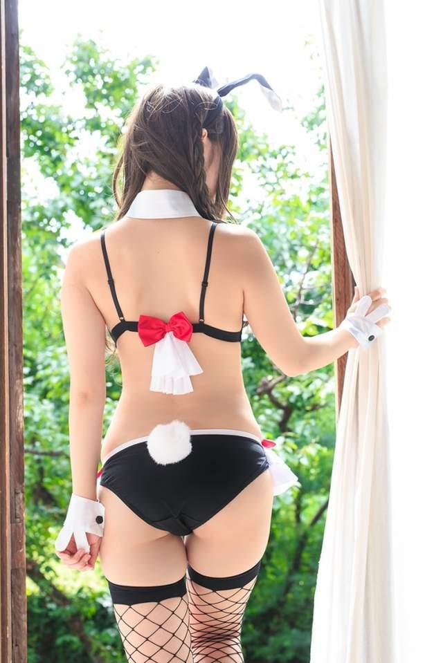 妄想商品《兔女郎内衣》偷偷满足女孩性感变身的愿望❤ - 图片4