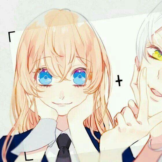 情侣头像一左一右唯美,卡通情侣头像,