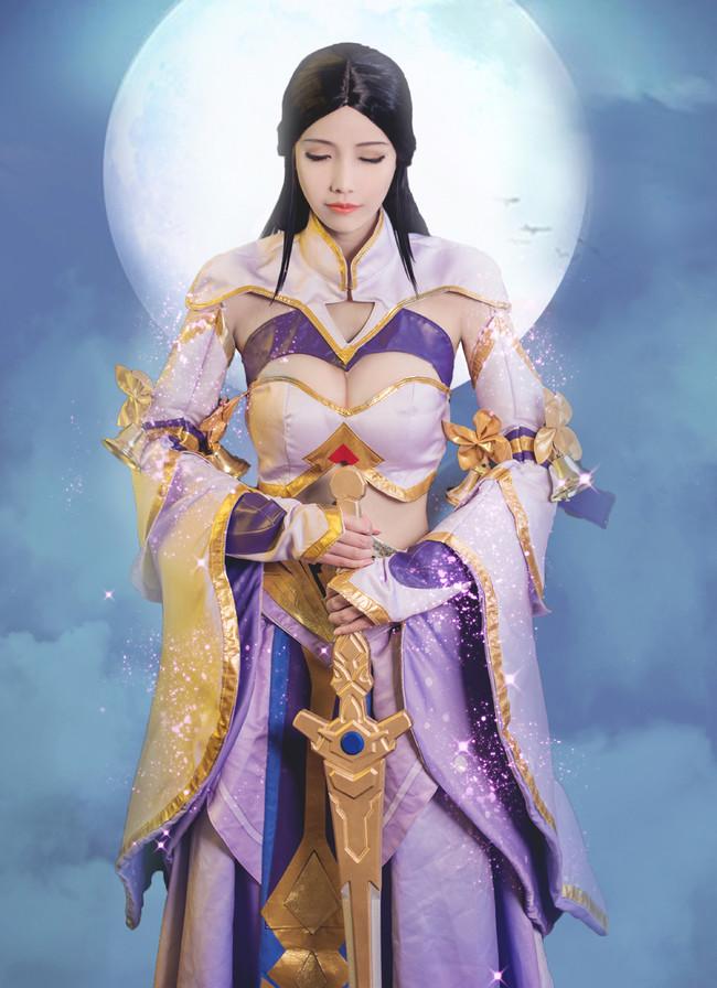 王者荣耀 露娜·紫霞仙子 我的意中人是个盖世英雄 COS