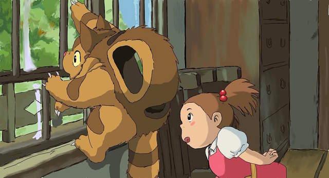 推特话题《梅与小猫巴士》意外不为人知的《龙猫》续篇 - 图片3