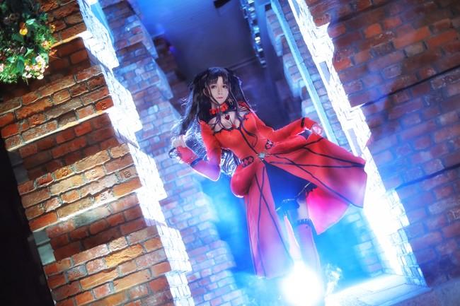 Fate/Grand Order,远坂凛cos,yui金鱼