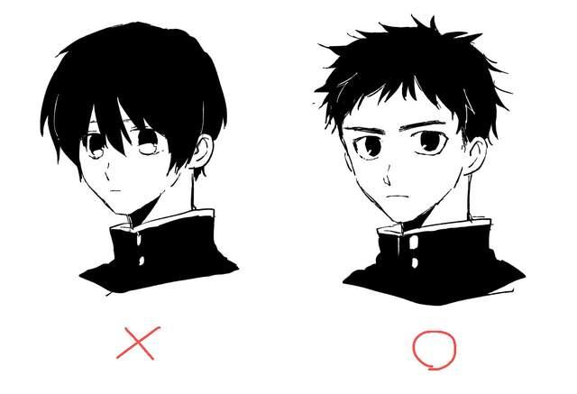 绘师疑惑《男生所谓的短髮到底是哪一种》漫画和现实的标准差很大…… - 图片1