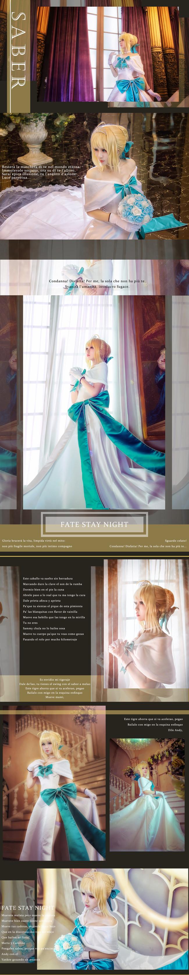 Fate/Grand Order,Sabercos,Saber礼服