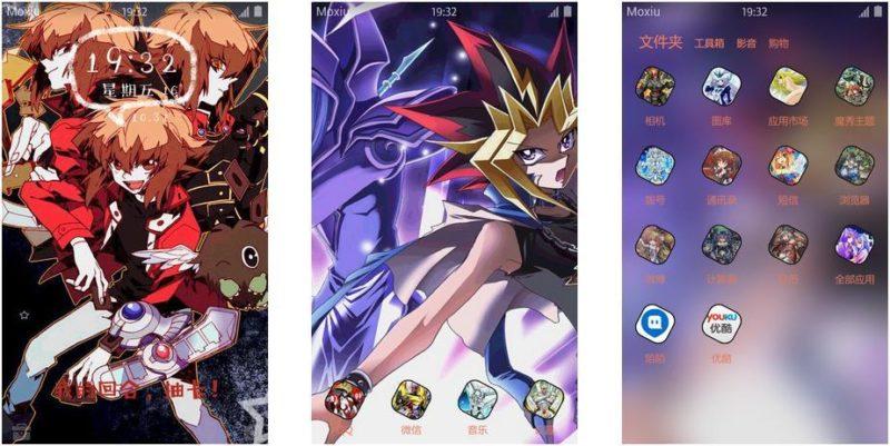游戏王手机主题,动漫手机主题,二次元手机主题