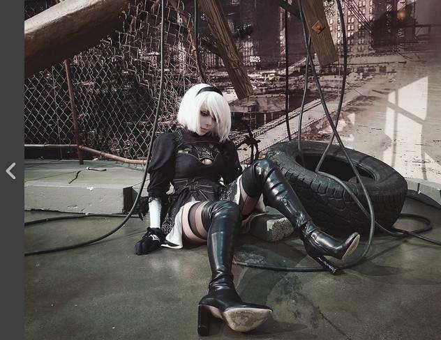 《人造人18号》美国RoxyChan扮演超像超性感 - 图片14