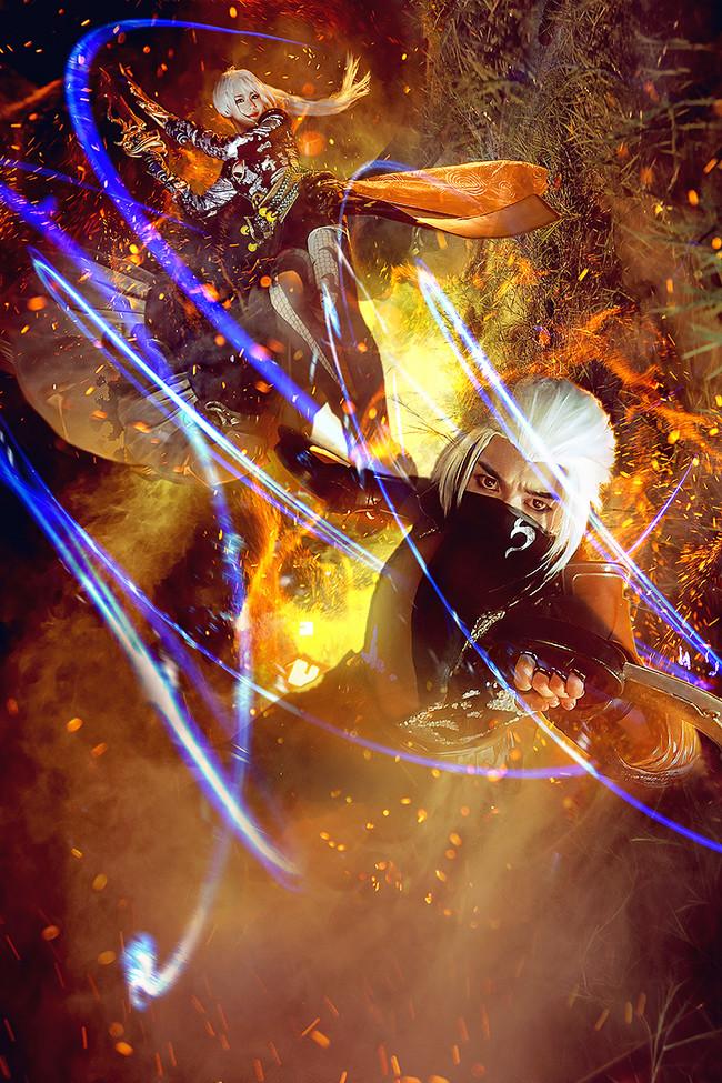 巨人网络,仙侠世界,cosplay,绝影峰
