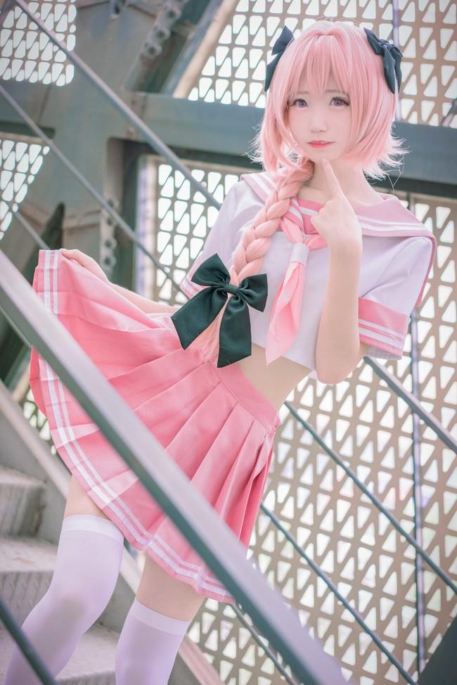 Fate/Apocrypha,阿斯托尔福,阿福cosplay,乌鸦坐飞机