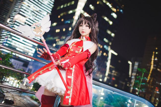 Fate/Grand Order,远坂凛cos,矮乐多Aliga