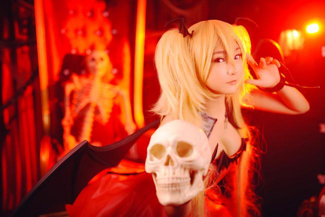 守护甜心,月咏歌呗,恶魔cosplay