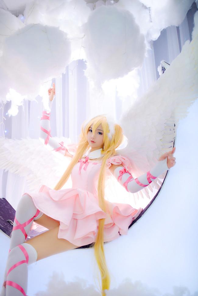 守护甜心 月咏歌呗天使变身cosplay图片