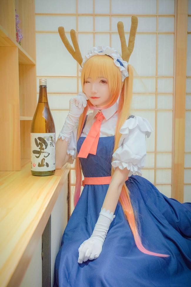 小林家的龙女仆,小林家的妹抖龙,托尔cosplay,cosplay图片